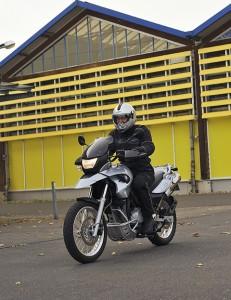 Einzel-Motorradtraining
